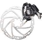 TRP HY/RD Cable-Actuated Hydraulic Disc Brake includes 160mm Rotor Black