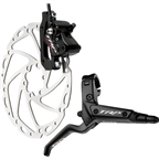 TRP Quadiem Alloy Black All Mountain/DH Race Disc Brake Front 180mm Rotor Black