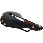 Selle Anatomica T Series Watershed Saddle Black with Copper Rivets