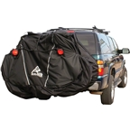 Skinz Hitch Rack Rear Transport Cover with Light Kit: Fits 2-4 Bikes~ Black~ Large