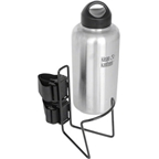 "TwoFish Growler QuickCage 64oz Water Bottle Cage: 4.5"" outer diameter Bottles (No Bottle included) Vinyl Coated Black"