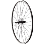 Quality Wheels Road Rim Brake Rear Wheel 135mm 700c Shimano Deore M610 Black / Alex ACE19 Black / DT Industry Black