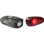 NiteRider Lumina 250 USB Rechargeable Headlight and Solas 2W USB Rechargeable Taillight Combo