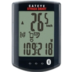 CatEye Strada Smart With Speed and Cadence Wireless Cycling Computer CC- RD500B: Black