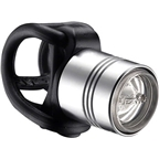 Lezyne Femto Drive Headlight: High Polish Silver
