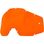 100% Racecraft/Accuri/Strata Replacement Lens, Orange Anti-Fog Lens