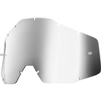 100% Accuri/Strata Youth Replacement Lens, Silver Mirror Anti-Fog Lens