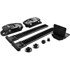 BONT Slimline Buckle Kit with 9cm ladder: Black