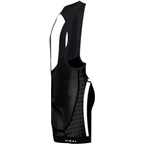 Primal Wear Tungsten Evo Cycling Bib Short: Black/White
