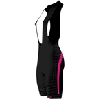 Primal Wear Women's Tungsten Evo Bib Cycling Short: Black/Pink