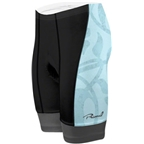 Primal Wear Women's Petal Prisma Cycling Short: Black/Light Blue