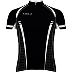 Primal Wear Tungsten Evo Cycling Jersey: Black/White