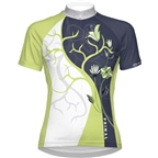 Primal Wear Women's Namaste Jersey - Green/White