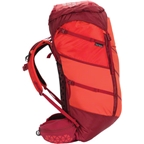 Boreas Gear Women's Lost Coast 60 Backpack: LG Red