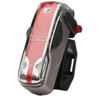Light and Motion Vis 180 tail light, silver moon