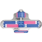 Brannock Device Co. Combination Shoe Sizing Device