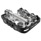 Genetic Chimera Clipless/cage Pedals, Black/silver