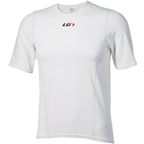 Louis Garneau 3002 Base Layer Short Sleeve Top: White