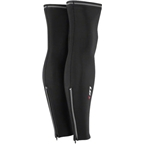 Louis Garneau Zip Leg Warmer 2: Pair~ Black