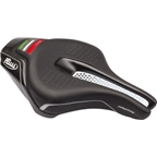 Selle Italia Iron Tekno Flow Saddle: Small Black S3