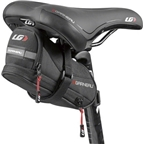 Louis Garneau Grand Butler Seat Bag: Black One Size