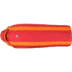 Big Agnes Encampment 15F Synthetic Sleeping Bag: Red/Orange Regular