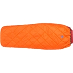 Big Agnes Cross Mountain 45F Synthetic Sleeping Bag: Orange Regular