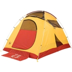 Big Agnes Inc. Big House 4 Shelter: Yellow/Red