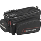 Louis Garneau Drift R16 Rear Rack Bag: Black One Size