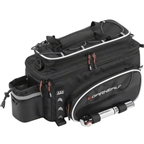 Louis Garneau Transpo R-12 Rear Rack Bag: Black One Size