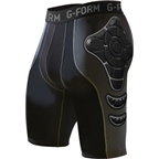 G-Form Pro-X Compression Shorts: Charcoal XL