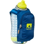 Nathan SpeedDraw Plus Insulated Handheld Hydration with 18oz Bottle: Blue