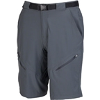 "Zoic 11.5"" Black Market Cycling Short with removable chamois liner: Shadow Gray"