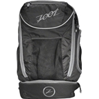 Zoot Ultra Tri 2.0 Triathlon Transition Bag: Black/Gray