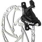 TRP Spyke Alloy Mechanical Disc Brake Caliper includes 160mm Rotor, Black