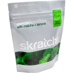 Skratch Labs Exercise Hydration Drink Mix: Matcha Green Tea and Lemons 1lb Bag