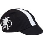 Walz HTFU Cotton Cycling Cap: Black/White