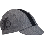 Walz HTFU Wool Cycling Cap: Gray/Black