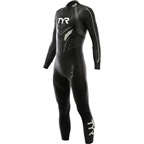 TYR Hurricane Cat 3  Wetsuit: Black/Silver