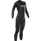 TYR Women's Hurricane Cat 1 Wetsuit: Black/Gray