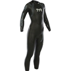 TYR Women's Hurricane Cat 2 Wetsuit: Black/Gray