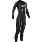 TYR Women's Hurricane Cat 3 Wetsuit: Black/Seafoam