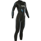 TYR Women's Hurricane Cat 5 Wetsuit: Black/Blue