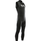 TYR Hurricane Cat 1 Sleeveless Wetsuit: Black/White