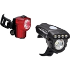 Cygolite Dash 320 and Hotshot Micro USB Rechargeable Headlight and Taillight Set
