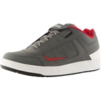SixSixOne Filter Shoe: Gray/Red