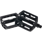 Eclat Surge CNC Alloy Sealed Pedals 9/16 Black