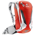 Deuter Compact Lite 8 Hydration Pack: Papaya-White