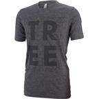Tree Connect The Dots T-Shirt: Charcoal