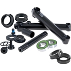 Salt Rookie Crank Set 175mm with Mid Bottom Bracket Black